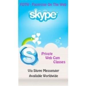 Facercise Online via Skype®-0